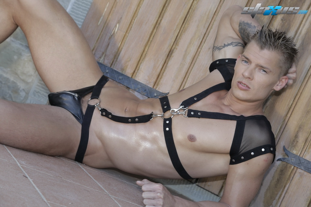 gay leather studs fuck twinks