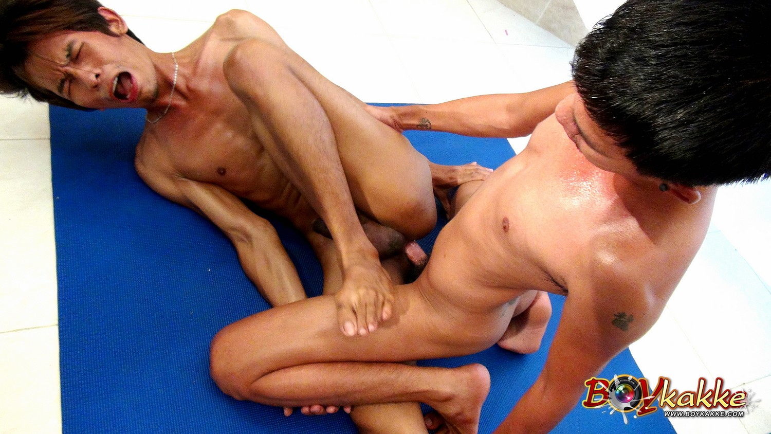 Horny gay wrestling