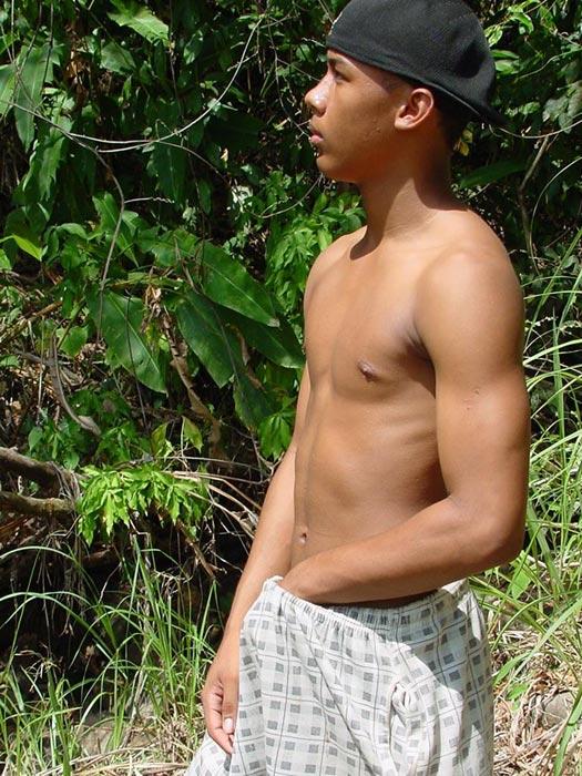 outdoors men latino Gay muscle