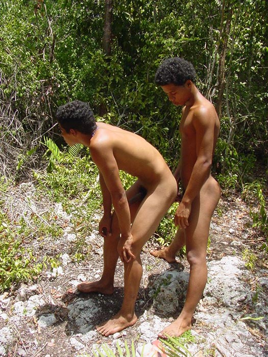 Twink Plows Ass Outdoors